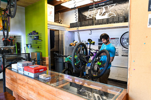 Tucson Bicycle Service La Buena South 4th Peach Properties Tucson